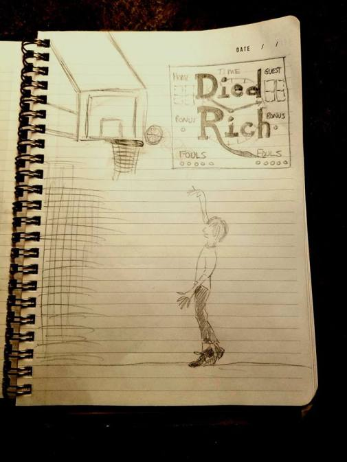 Died Rich in the paint