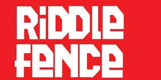 Riddle fence logo